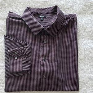 APT.9 Men's Button-down Shirt Longsleeves 3XB